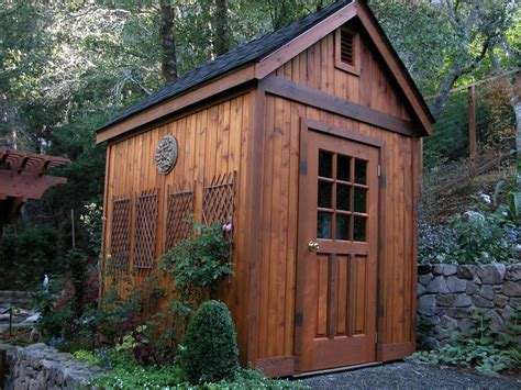 Prefab Gable Roof Prefab Sheds Garage And Shed Traditional With Backyard