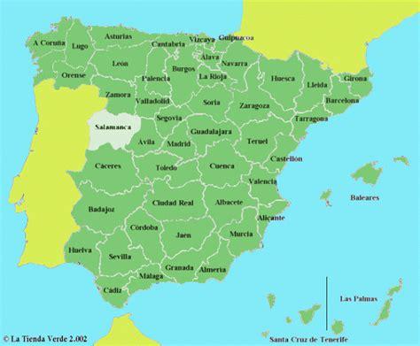 map of spain provinces map spain provinces