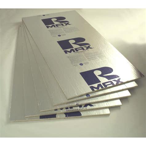Styrofoam Ceiling Boards by Shop Rmax Thermasheath 3 R6 Faced Polyisocyanurate Foam