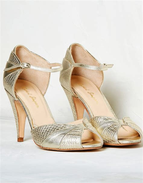 Lica High Heels N Co T 8cm gigi gold high heels buy gold designer wedding shoes