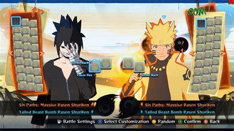 mod game naruto pc naruto ultimate ninja storm 4 pc mod no hud mod pre
