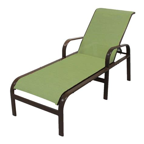 Outdoor Chaise Lounge Marco Island Cafe Brown Commercial Grade Aluminum Outdoor Patio Chaise Lounge With Dupione
