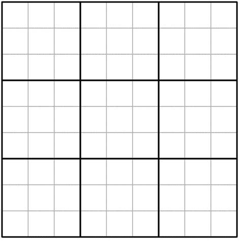 blank sudoku grid pin blank sudoku grid on