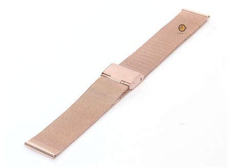 mailänder kuchen uhrenarmband 20mm rotgold mail 195 164 nder stahl