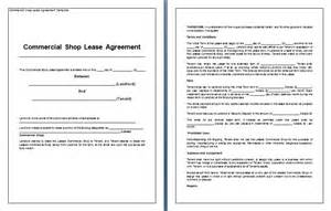 Business Lease Agreement Template by Commercial Rental Agreement Template Image Search Results