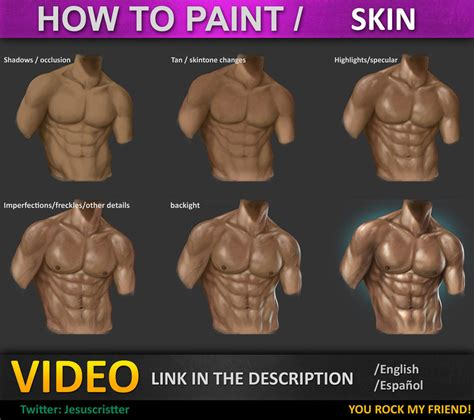 how to paint how to paint skin tutorial by jesusaconde on deviantart