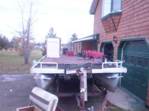 how to restore aluminum pontoons pontoon boat transformation cleaning restoration alumin