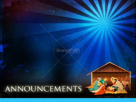 free nativity powerpoint templates the nativity story powerpoint