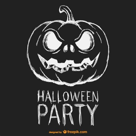imagenes de halloween en blanco y negro halloween party schwarz wei 223 poster download der