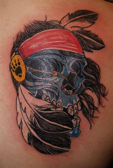 indian skull tattoo tattoo pinterest