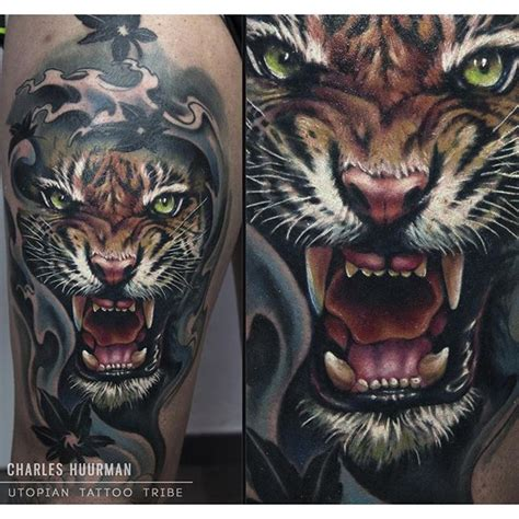 best 25 realistic tiger tattoo ideas on pinterest tiger