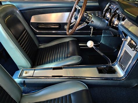 67 Mustang Interior by Beautiful Vintage Deluxe Mustang Interior In Blue 1967