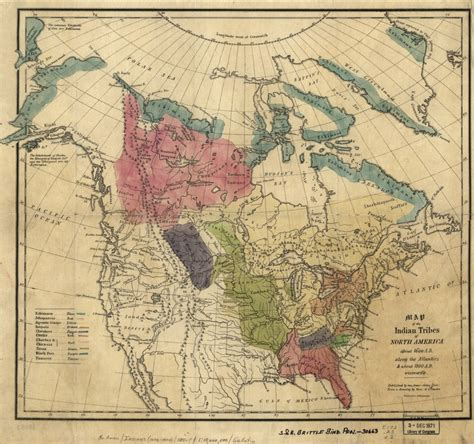 america map american tribes map of the indian tribes of america about 1600 a d