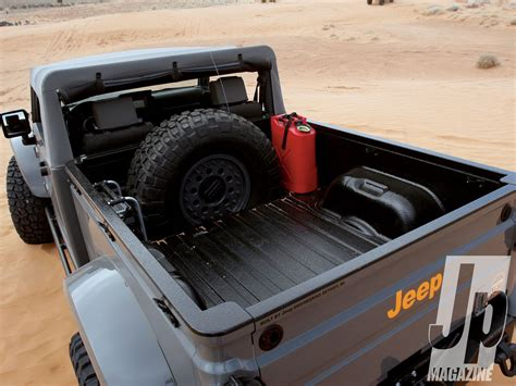 jeep truck concept interior breaking updated jeep wrangler pickup confirmed by 2019