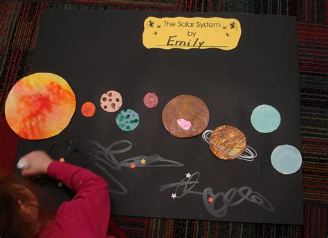 craft ideas for solar system mrs s preschool ideas the solar system
