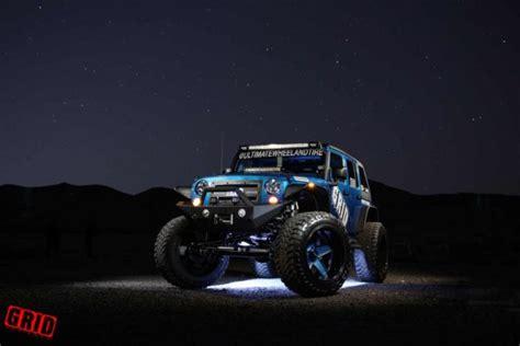 jeep blue and black grid road wheel tire jeep wrangler jks