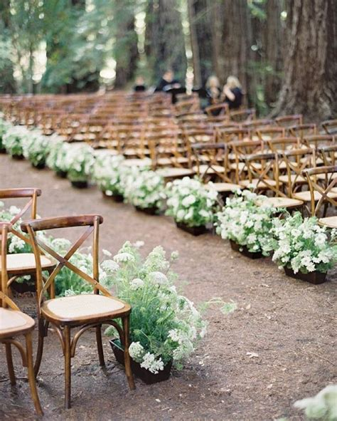 Wedding Aisle Lined With Flowers by 1009 Best Fern And Forest Wedding Images On