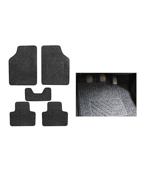 Karpet Honda City speedwav carpet black car floor foot mats honda city