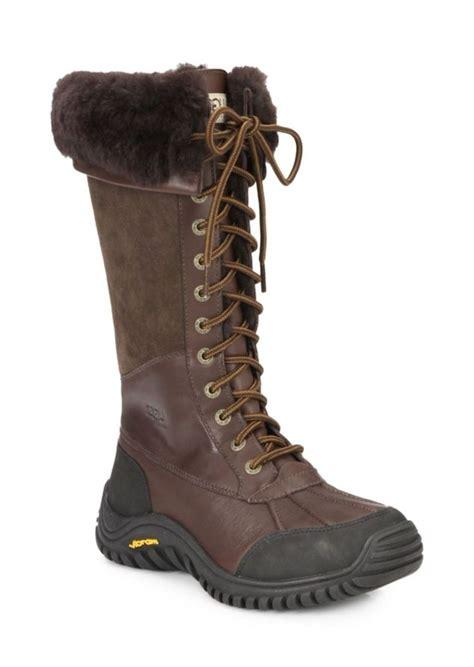 ugg lace up boots ugg ugg australia adirondack uggpure lace up boots
