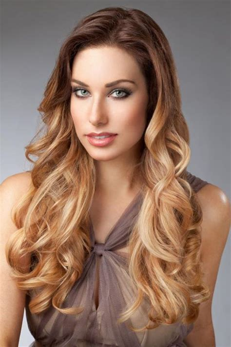 mechas californianas o mechas de colores 20132014 peinados 2014 cabello largo con mechas californianas 2013