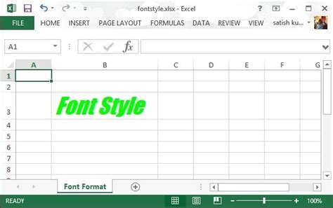 xssf tutorial apache poi fonts