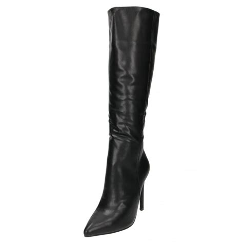 high heeled knee high boots koi couture high heel stiletto knee high boots pointed toe