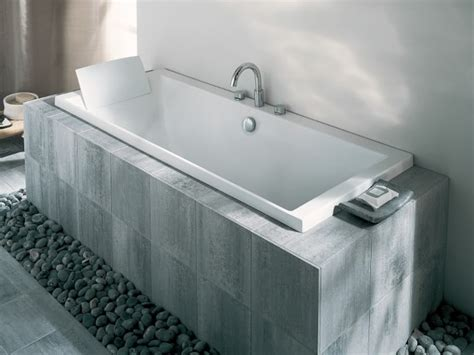 fabriquer une baignoire en bois comment faire un tablier de baignoire en bois excellent