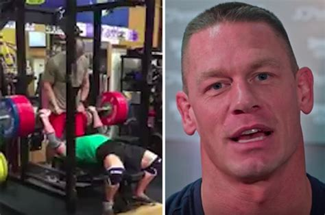 wwe wrestlers bench press wwe star john cena talks thoughts on weightlifting in