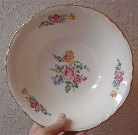 vintage china patterns homer laughlin china patterns this is a serving bowl by