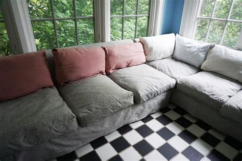 100 slipcover for pillow back sofa furniture 45