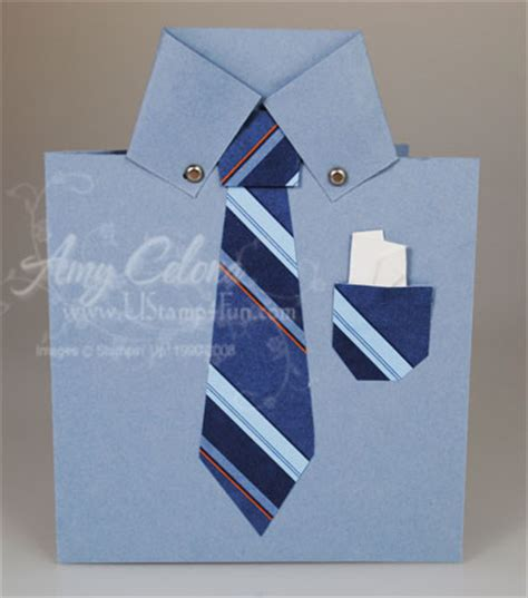 how to make a shirt card for s day mens shirt card ust4fun celona