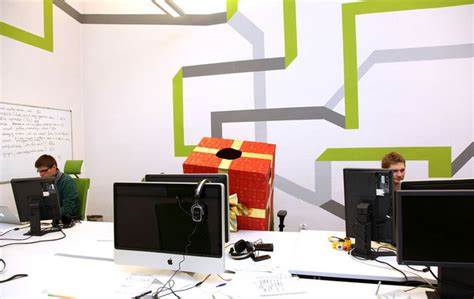 graphic design office ideas far fetched media spot wall