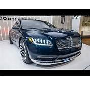 2017 LINCOLN CONTINENTAL CONCEPT CAR  YouTube