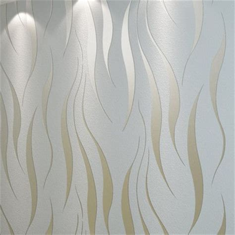 Wholesale Country Home Decor by Silver Grey Abstract Stripes Modern Background Pvc Wall