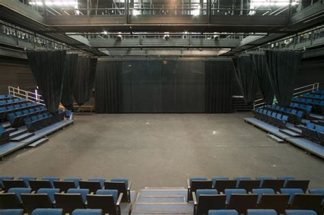 Small Open Floor Plan by Theatre Facilities