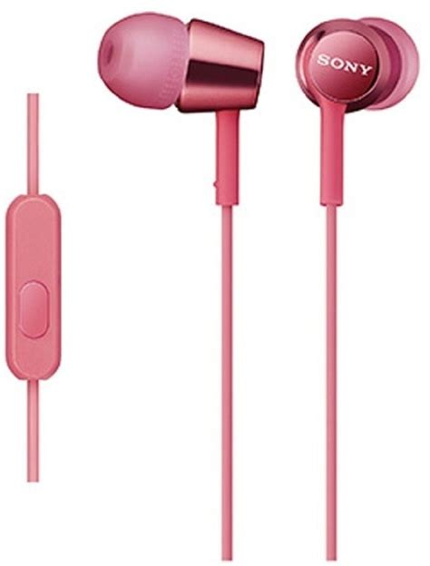 Headset Sony Experia Mdr Ex15ap Original 100 sony mdr ex150ap light pink wired headset with mic price in india buy sony mdr ex150ap light