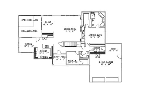 ravenscroft luxury ranch home plan 088d 0199 house plans