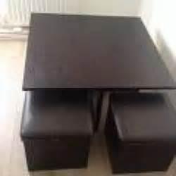 table basse avec 4 poufs encastrables 224 massy meubles