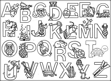 Alphabet A Coloring Pages by Printable Animal Alphabet Coloring Pages Color Zini At