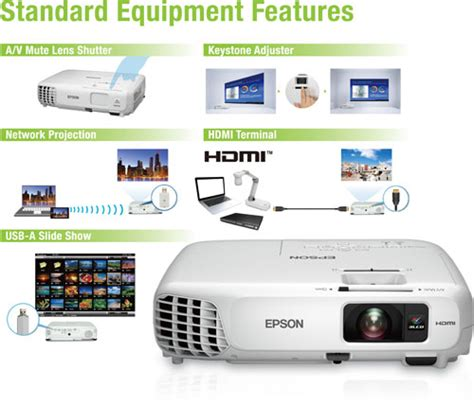 Proyektor Epson Eb X18 epson eb x18 projector v11h551041