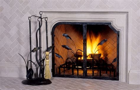 Fireplace Screens Custom by Fireplace Screens Custom Designed And Forged For Your Home