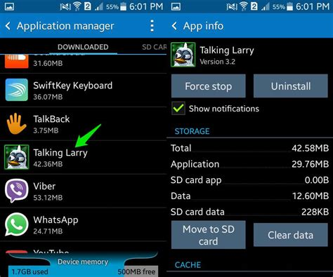 app manager for android how to delete android apps ubergizmo