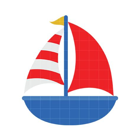 boat drawing cute cute sailboat clipart