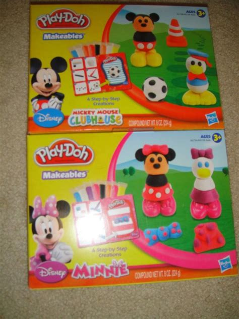 New Play Doh Minnie Mouse play doh mickey mouse clubhouse disney mouskatools set new