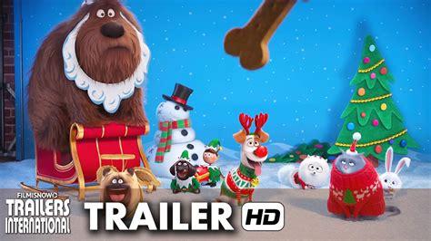 vidio film natal pets a vida secreta dos bichos trailer feliz natal