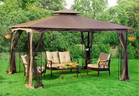 outdoor patio l patio gazebo canopy mosquito netting 10x12 patio garden