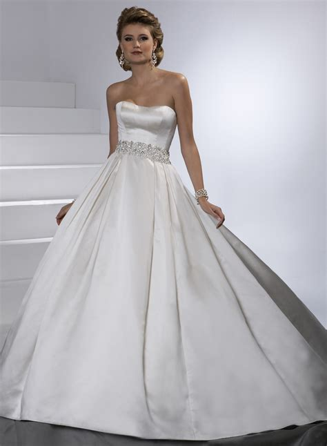 Satin Wedding Dresses by Satin Gown Wedding Dress Sang Maestro