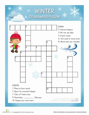 12 best winter puzzles images education winter puzzles for milled