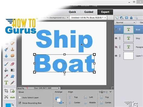 tutorial adobe photoshop elements 11 how to use text in adobe photoshop elements 15 14 13 12 11