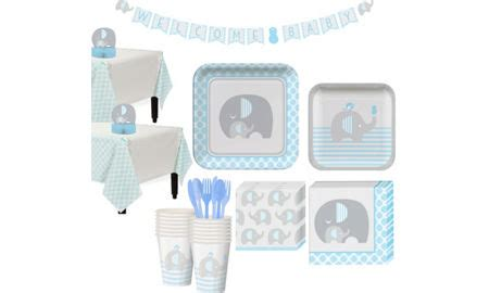 Blue Baby Shower Supplies by Blue Baby Elephant Baby Shower Supplies City